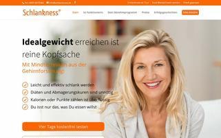 Schlankness Webseiten Screenshot