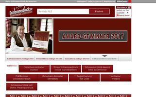 Schlemmerblock Webseiten Screenshot