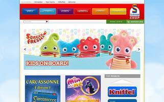 Schmidt Spiele Webseiten Screenshot