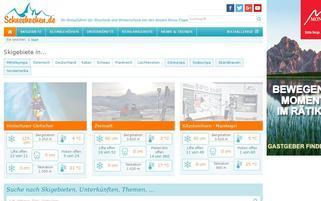 Schneehoehen.de Webseiten Screenshot