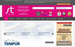 Schöne Träume Webseiten Screenshot