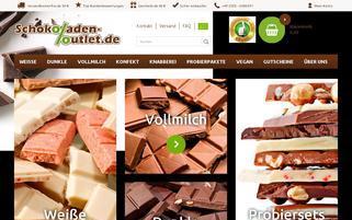 schokoladen-outlet Webseiten Screenshot