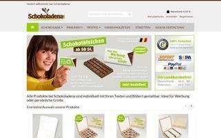 schokoladena.com Webseiten Screenshot
