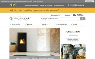 Schornsteinmarkt Webseiten Screenshot