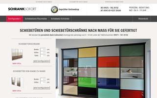 schrank-sofort.de Webseiten Screenshot