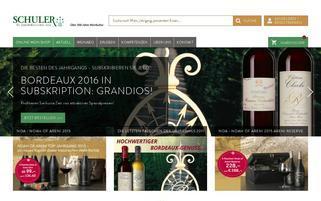 Schuler Webseiten Screenshot