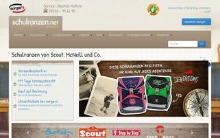 Schulranzen.net Webseiten Screenshot