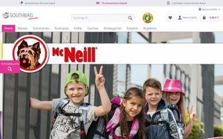 Schulranzen Onlineshop Webseiten Screenshot