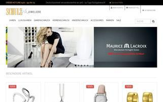 Schulz Juweliere Webseiten Screenshot
