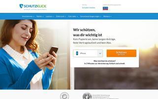 schutzklick.at Webseiten Screenshot