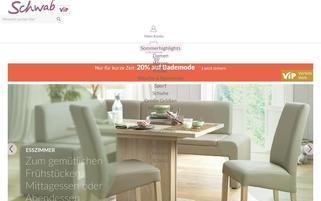 schwab.de Webseiten Screenshot