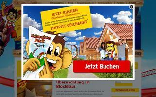 Schwabenpark Webseiten Screenshot