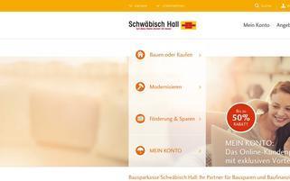 Schwäbisch Hall Webseiten Screenshot