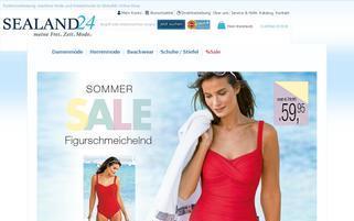 Sealand24 Webseiten Screenshot