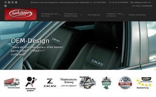 Seat Styler Webseiten Screenshot
