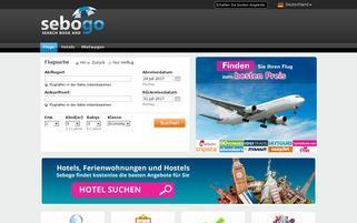 Sebogo Webseiten Screenshot
