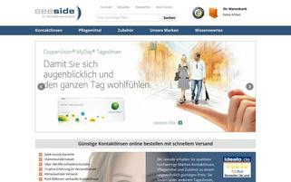 Seeside Webseiten Screenshot