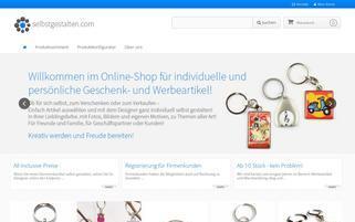 selbstgestalten.com Webseiten Screenshot
