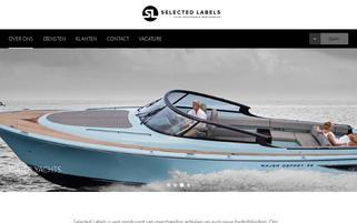 Selectedlabels.com Webseiten Screenshot