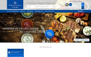 seltmann-shop.de Webseiten Screenshot