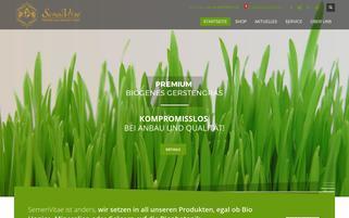 Semen Vitae Webseiten Screenshot