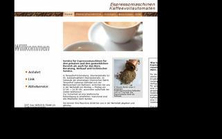 Service Espresso Webseiten Screenshot