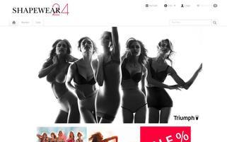 shapewear24.de Webseiten Screenshot