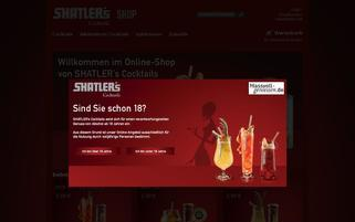 Shatlers Webseiten Screenshot