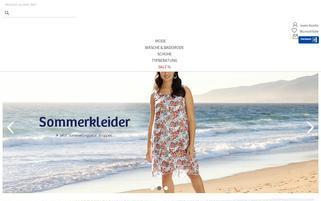 sheego.de Webseiten Screenshot