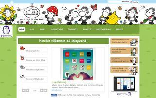 sheepworld Webseiten Screenshot