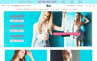 Sheinside Webseiten Screenshot