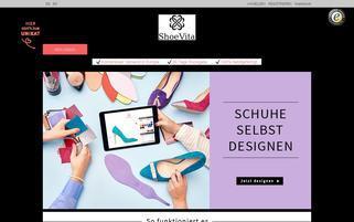 Shoevita Webseiten Screenshot