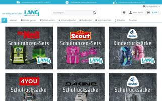 shop-lang.de Webseiten Screenshot