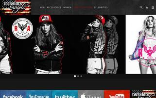 shop-rockstarsandangels.com Webseiten Screenshot