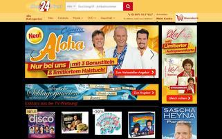 Shop24Direct Webseiten Screenshot