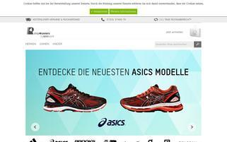 shop4runners Webseiten Screenshot
