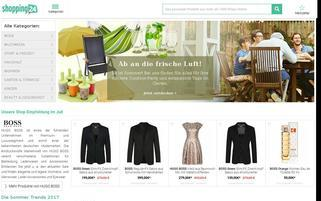 Shopping24 Webseiten Screenshot