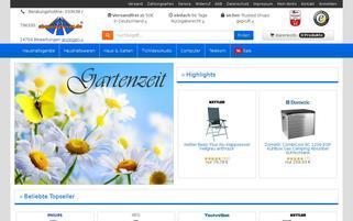 Shoppingfever Webseiten Screenshot