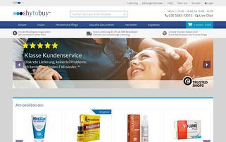 Shytobuy Webseiten Screenshot