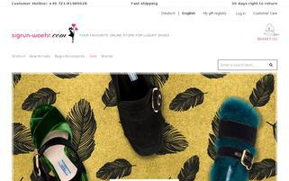 Sigrun Woehr Webseiten Screenshot