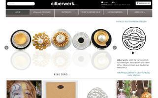 Silberwerk Webseiten Screenshot