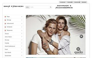 Sima Fashion Webseiten Screenshot