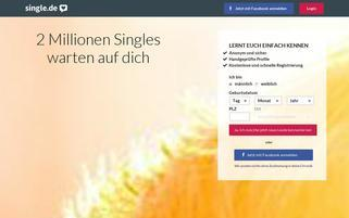 Single.de Webseiten Screenshot