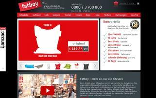 Sitzclub Webseiten Screenshot