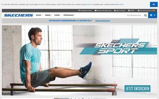 Skechers Webseiten Screenshot