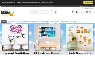skins4u.de Webseiten Screenshot