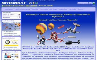 Skytravel24 Webseiten Screenshot