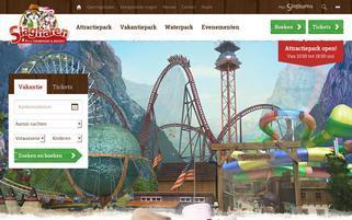 Slagharen Webseiten Screenshot