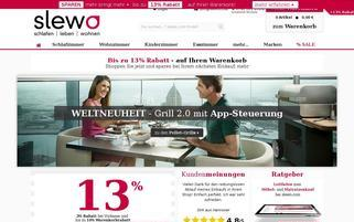 slewo Webseiten Screenshot
