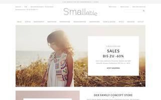 smallable.com Webseiten Screenshot